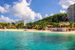 Beach in Jamaica, Montego Bay