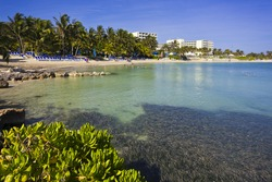 Beach in Montego Bay, Jamaica