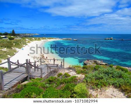 Beach in Rottnest Island #1071082994