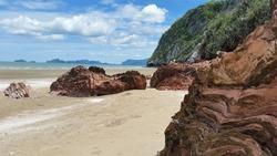 beach in thailand pak nam pran