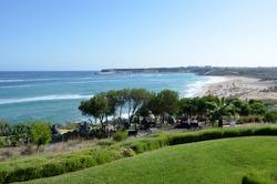 Beach in the coast of Algarve