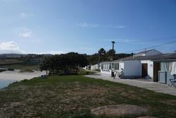 Beach in village of Coruna. Galicia,Spain