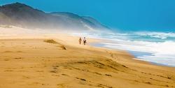 Beach iSimangaliso Wetland Park South Africa