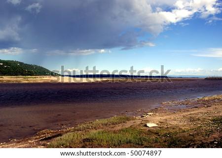 Clip Art Rain Cloud. Landscape and Rain Cloud