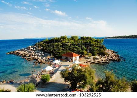 Beach near Prizba, Korkula (Croatia)