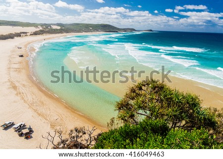 Beach of Fraser Island IV