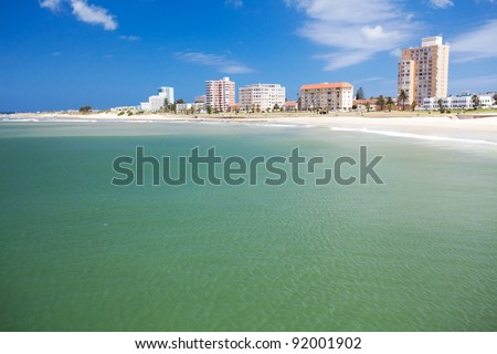 beach of Port Elizabeth, South Africa