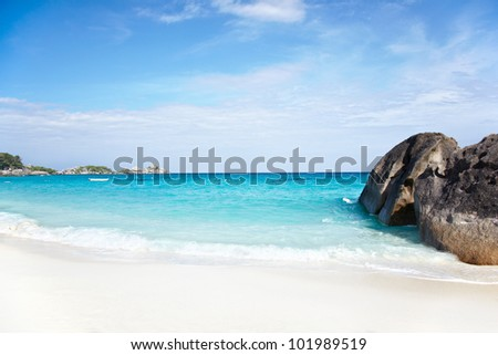 Beach of Similan Islands, Koh Miang, National Park