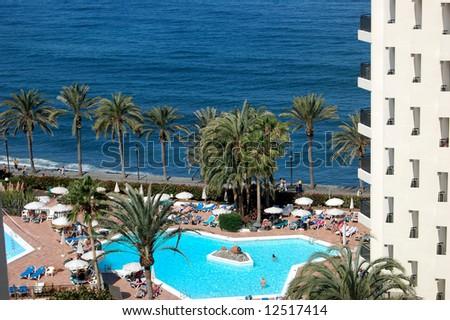 Beach on Canary island, Tenerife