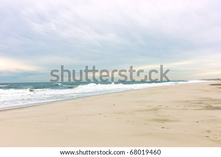 Beach on Long Island, New York