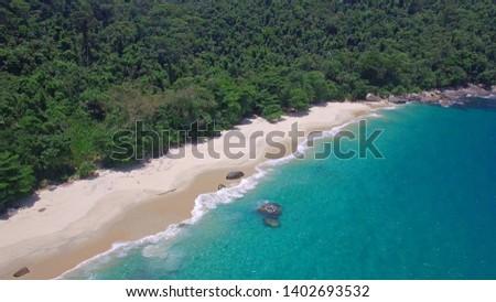 beach outside - Gipóia Island - Angra dos Reis - Rio de Janeiro - Brazil