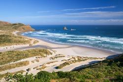 Beach Paradise South Island New Zealand
