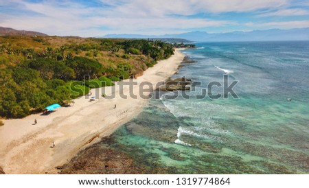beach punta mita, nayarit, mexico Foto stock ©