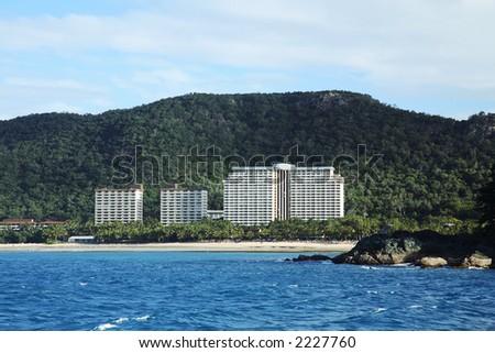 Beach Resort on Hamilton Island, Whitsunday, Queensland, Australia
