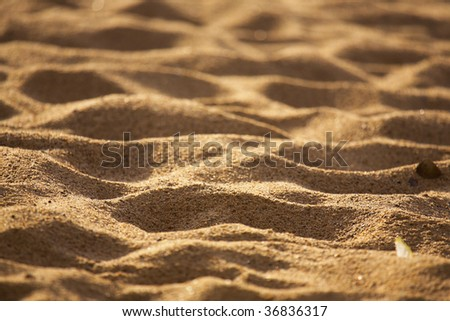 beach sand background. dresses Woman lying on each, sand beach sand background. stock photo : Beach