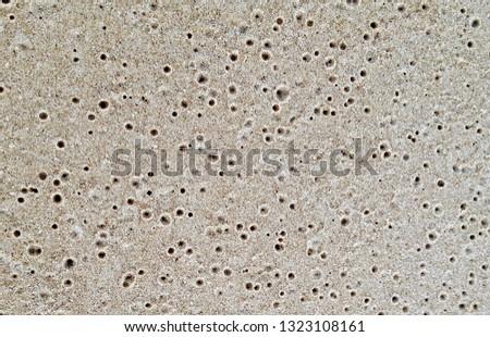 Beach Sand Closeup #1323108161