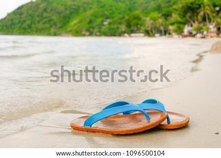 7d849da62df36a Free photos Seashell on the sandy beach in summer with blue sea and ...