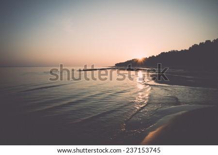 beach skyline with sand and...