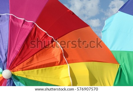 Beach Umbrella #576907570