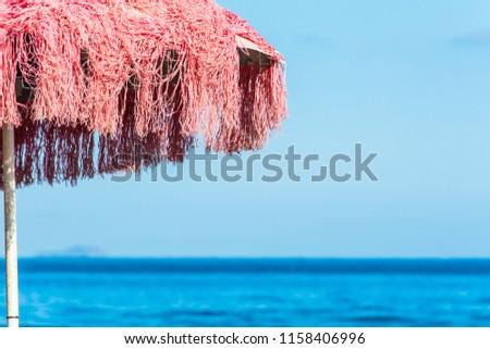 beach umbrella on the beach #1158406996