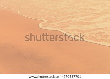 Beach - vintage filter