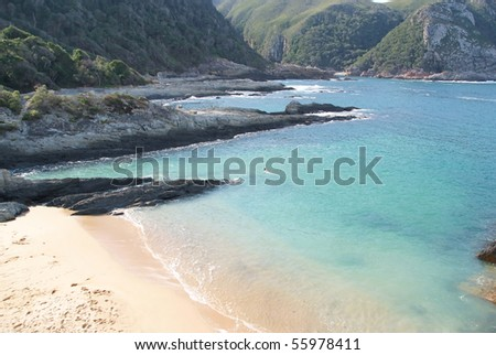 Beach with a great surrounding