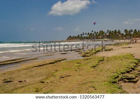 Beaches of Brazil - Porto de Galinhas Beach - Ipojuca, Pernambuco state #1320563477