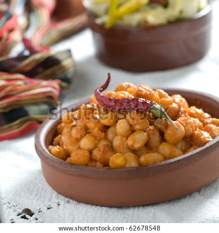 bean food - stock photo