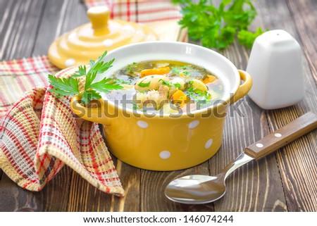 Bean soup