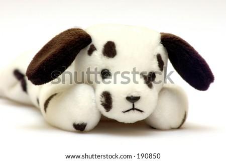 Beanbag Stuffed Plush Toy Dog