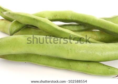 beans on white