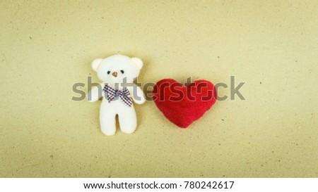 bear and heart #780242617