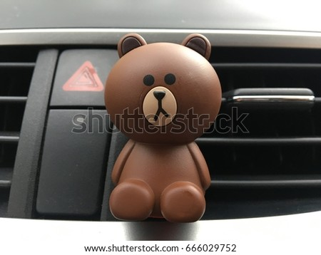 bear Automotive air conditioning in the car