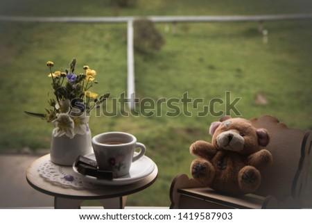 bear is always happy to guests #1419587903