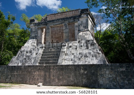 Bearded Man Temple at Chichen Itza