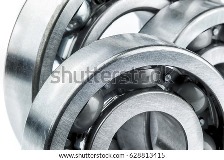 Bearings with shallow depth of field #628813415