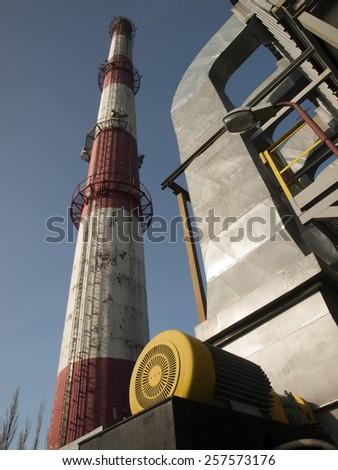 industry, chimneys