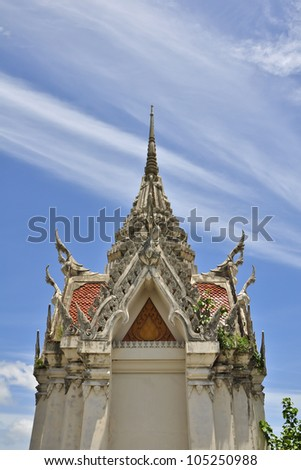 "Beatyfull of Buddhism temple , ""Wat Yansanwararam , Pattaya , Thailand"""