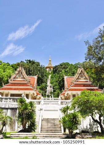 """Beatyfull of Buddhism temple , """"Wat Yansanwararam , Pattaya , Thailand"""""""