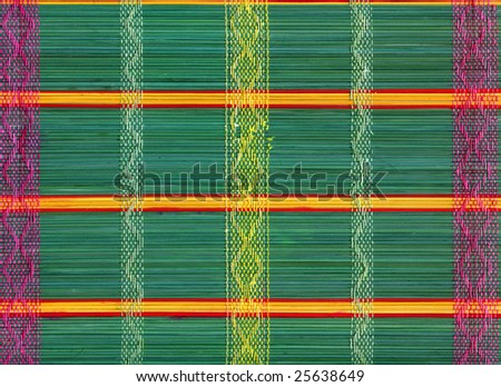 Beautiful abstract ancient multi-coloured background from stems.