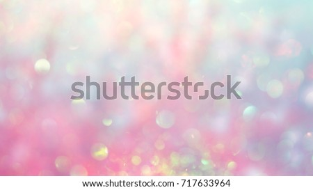 Beautiful abstract background, bokeh light glistening on pink gradient color shades, blurred and magical, perfect as backdrop or wallpaper, it gives a dreamy atmosphere to your design.