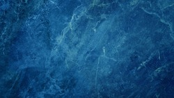beautiful abstract grunge decorative dark navy blue stone wall texture. rough indigo blue marble background.