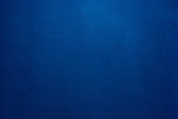 Beautiful Abstract Grunge Decorative Navy Blue Dark Stucco Wall Background. Space For Text