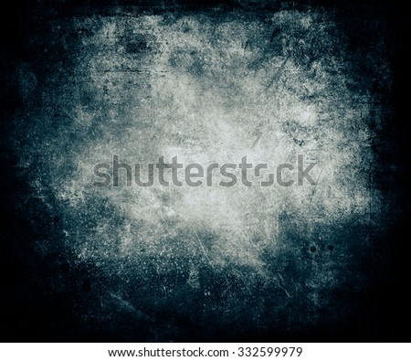 Beautiful Abstract Magic Grunge Blue Distressed Texture Background