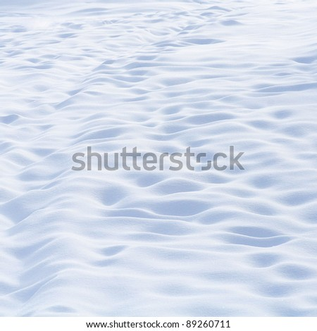 Beautiful abstract snow background in mountains