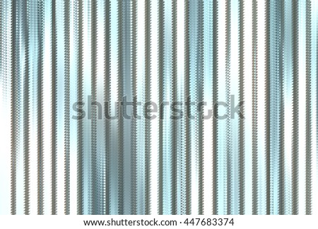 Beautiful abstract vertical blue background with lines #447683374