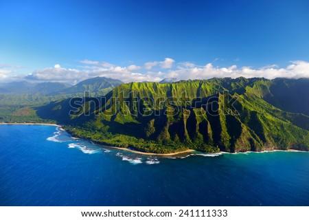 beautiful aerial view of...
