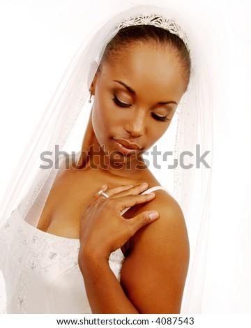Beautiful African-American Bride