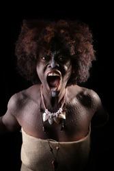 Beautiful African American tribe