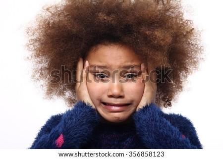 Beautiful afro girl #356858123